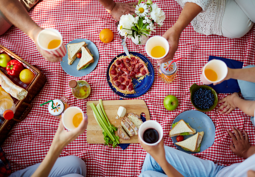 how to have the perfect picnic, picnic recipes, picnic spots in the uk (1)
