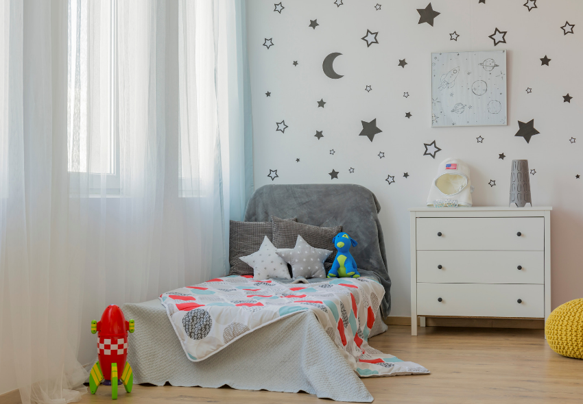fun ways to decorate your child's bedroom (1)