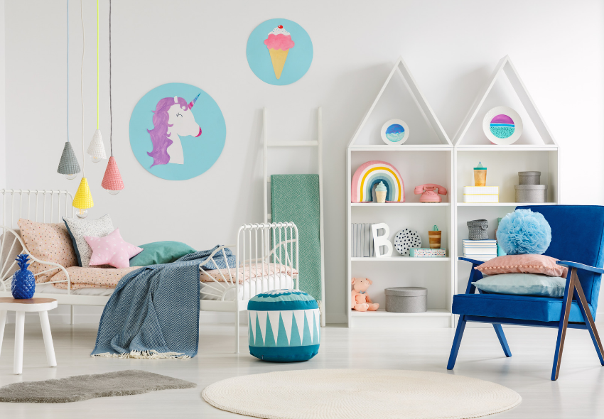 fun ways to decorate your child's bedroom
