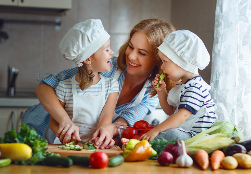 setting healthy examples for your kids, creating healthy habits
