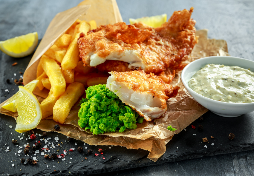 healthy fish and chips recipes