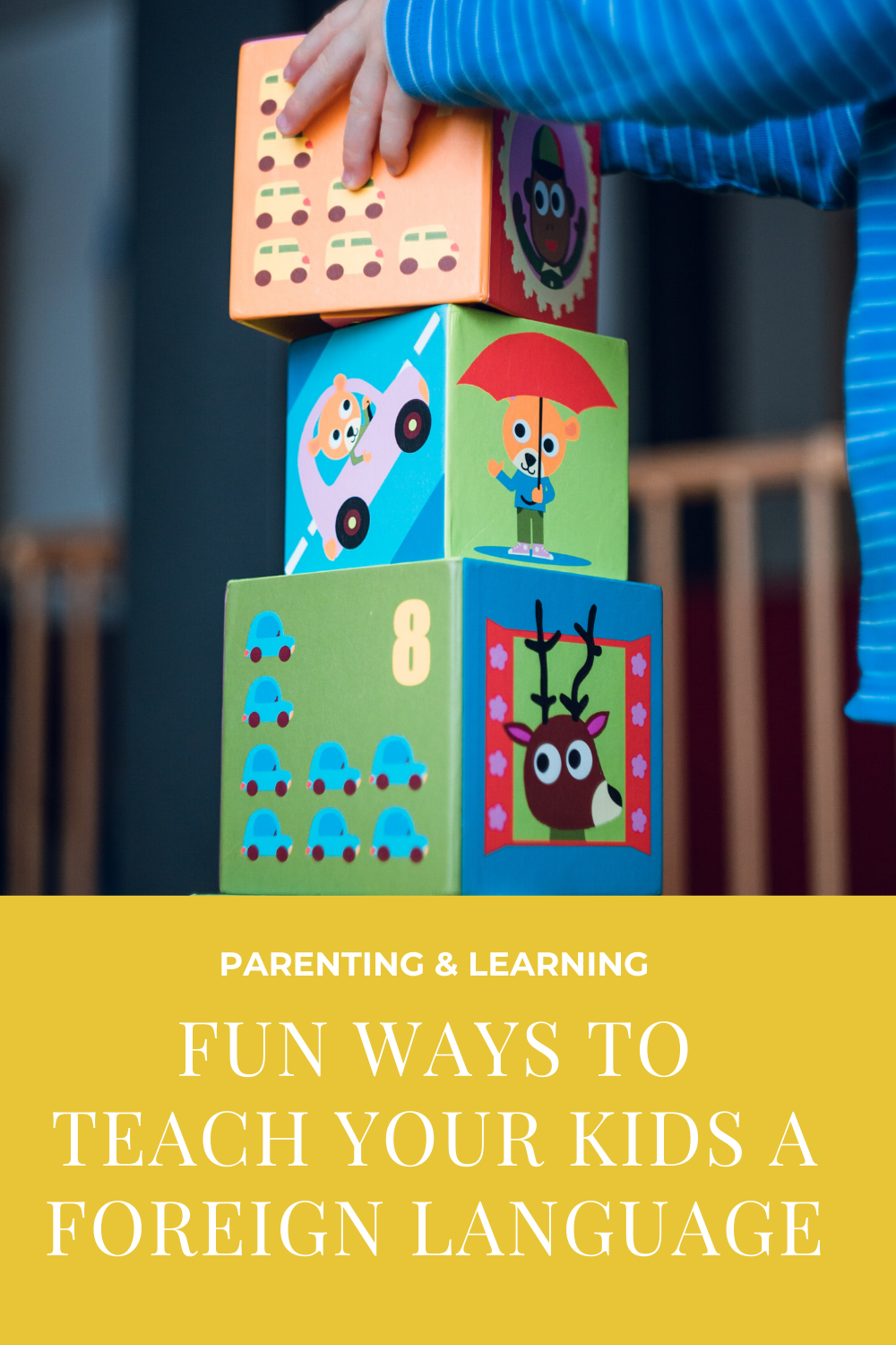 fun ways to teach kids a foreign language