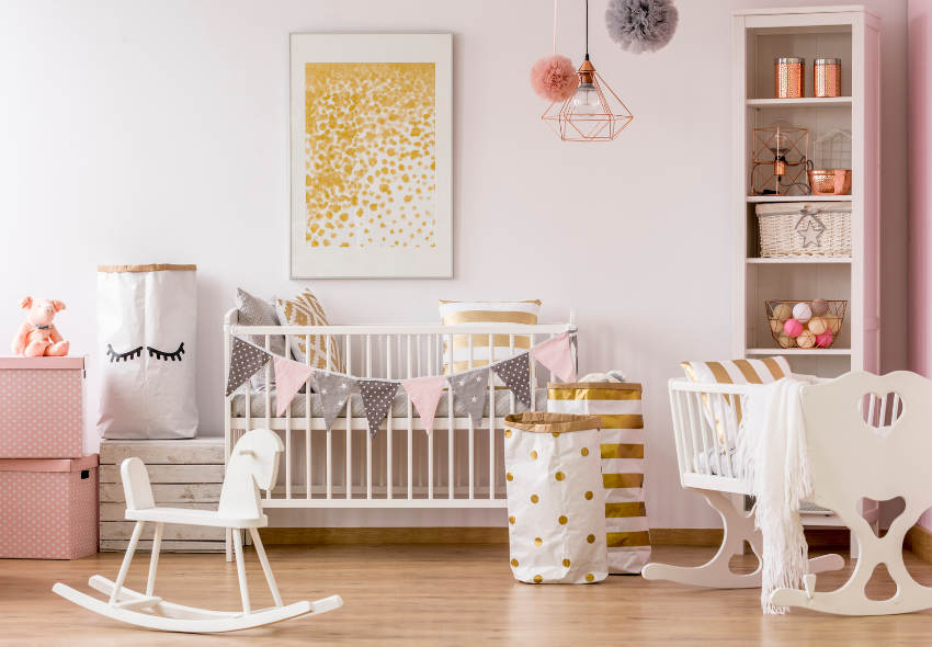 fun ways to decorate a nursery (1)