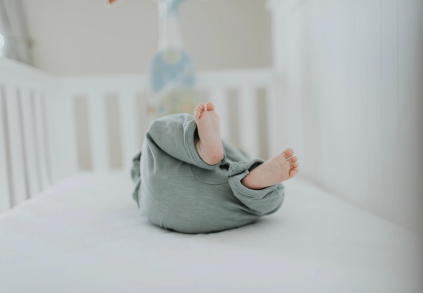 organise your baby's bedroom