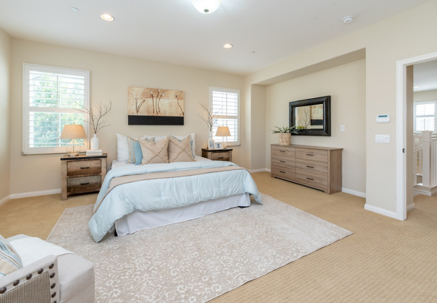 how to create a luxury bedroom in your home